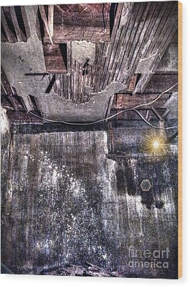 Ray Of Hope Wood Print by Dan Stone