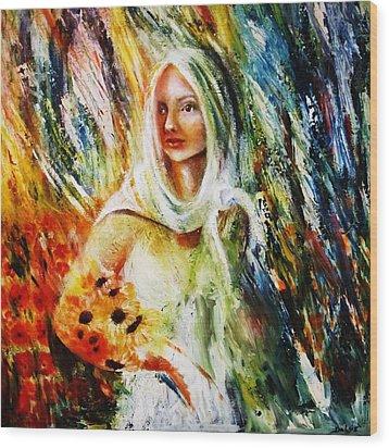 Ray Of Sunshine Wood Print