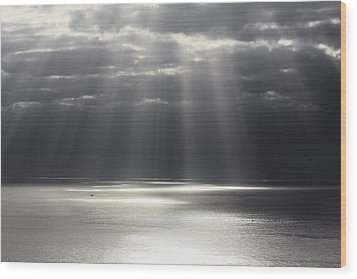 Rays Of Hope Wood Print by Shane Bechler