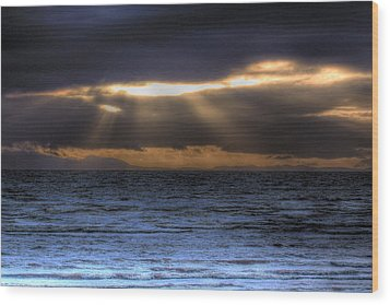 Rays Of Light  Wood Print by Naman Imagery