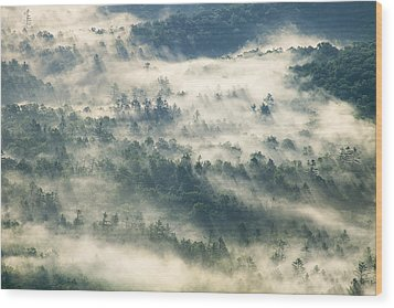 Rays Through The Clouds Wood Print by Andrew Soundarajan