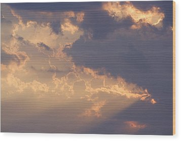 Reach For The Sky 9 Wood Print by Mike McGlothlen