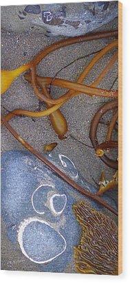 Reach The Beach  Wood Print