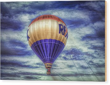 Ready For Flight Wood Print by Gary Smith