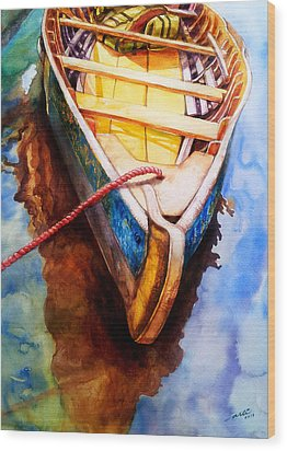 Ready For The Ride Wood Print
