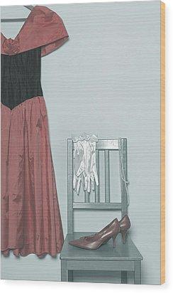 Ready To Go Out Wood Print by Joana Kruse