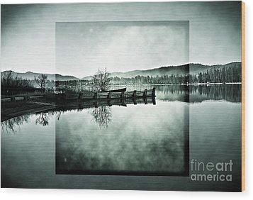 Realize Wood Print by Janie Johnson