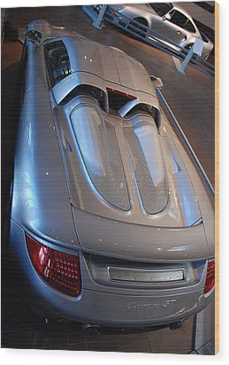 Rear Pov Wood Print by John Schneider
