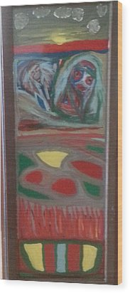 Rear Window Wood Print by Darrell Black