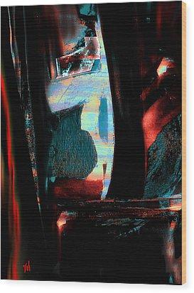 Reasons- Ewf Series 5 Wood Print by Yul Olaivar