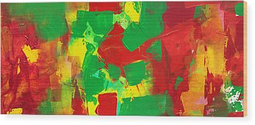 Recombinant Landscape 3 Wood Print by Paul Ashby