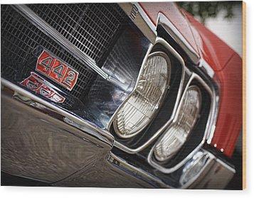 Red 1966 Olds 442  Wood Print by Gordon Dean II