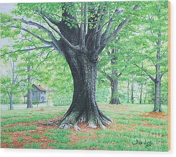 Red Clay Tennessee Wood Print by Mike Ivey