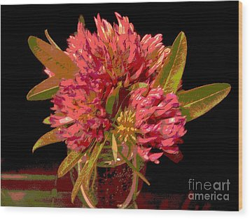 Red Clover 1 Wood Print