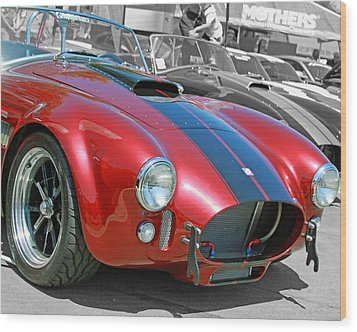 Wood Print featuring the photograph Red Cobra by Shoal Hollingsworth