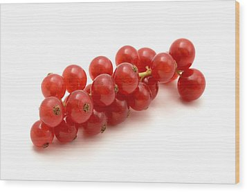 Wood Print featuring the photograph Red Currant by Fabrizio Troiani