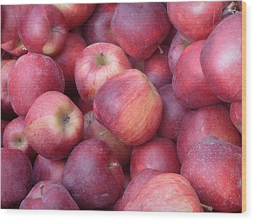 Wood Print featuring the photograph Red Delicious by Joseph Skompski