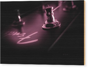Red Light District  Wood Print by Bob Orsillo