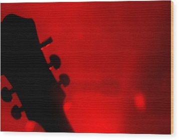 Red Light District Wood Print by KBPic