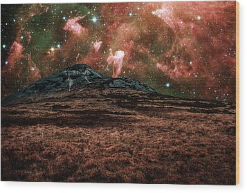 Red Planet Wood Print by Semmick Photo