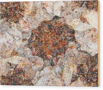 Red Rock Canyon - Soft Rock Wood Print