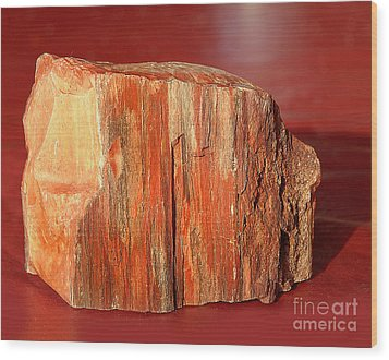 Wood Print featuring the photograph Red Rock by Lena Wilhite