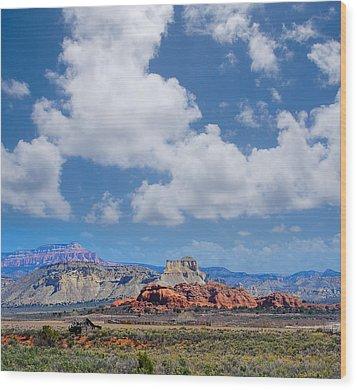 Red Rocks Near Kodachrome Basin Wood Print