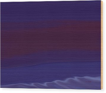 Red Sand Wood Print by Tim Stringer