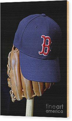 Red Sox Nation Wood Print by John Van Decker