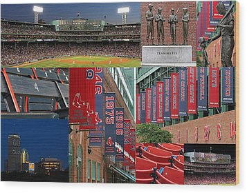 Red Sox Nation Wood Print by Juergen Roth