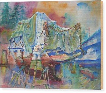 Redemption Ilwaco Wa Wood Print
