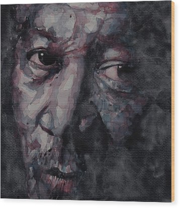 Redemption Man Wood Print by Paul Lovering