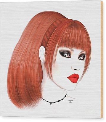 Redhead Cassia Wood Print