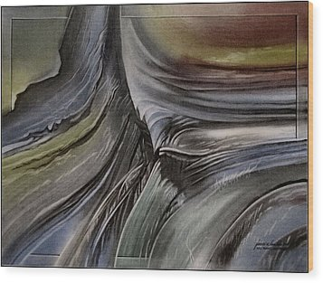 Wood Print featuring the photograph Redrockscapee 2010 by Glenn Bautista