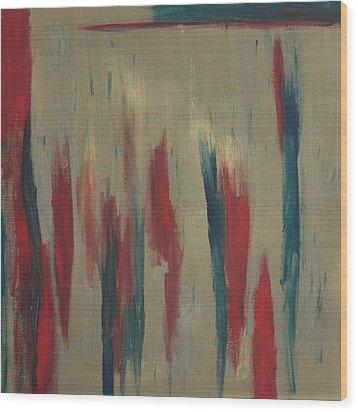 Reds Wood Print by Joanna Aktas