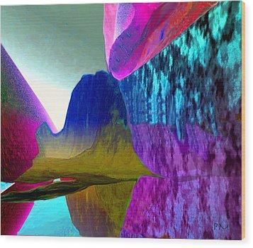 Reflect Glow X Wood Print