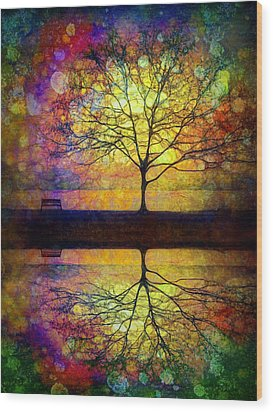 Reflected Dreams Wood Print