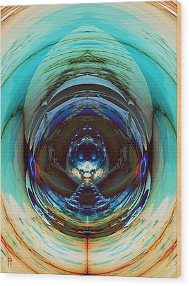 Reflected Wood Print by Jim Pavelle