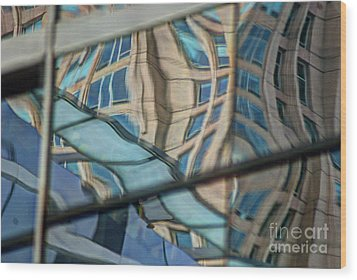 Reflection 15 Wood Print by Jim Wright
