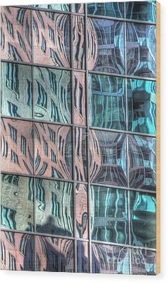 Reflection 19 Wood Print by Jim Wright