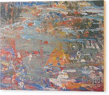 Reflection 3 Wood Print by Nancy Kane Chapman