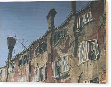 Reflection 6 Wood Print by Ron Harpham
