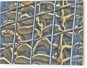 Reflection 7 Wood Print by Jim Wright
