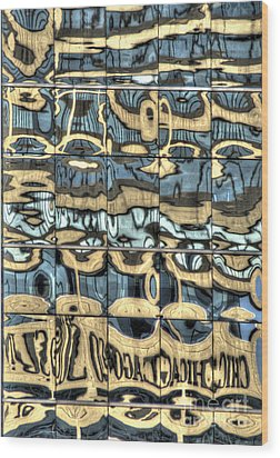 Reflection 9 Wood Print by Jim Wright