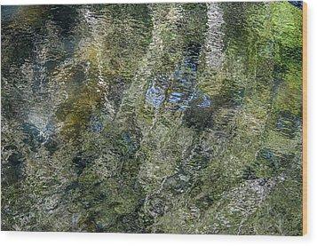 Reflection Art Wood Print by Roxy Hurtubise
