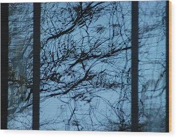 Reflection Wood Print by Joseph Yarbrough