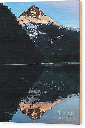 Reflection Wood Print by Robert Bales