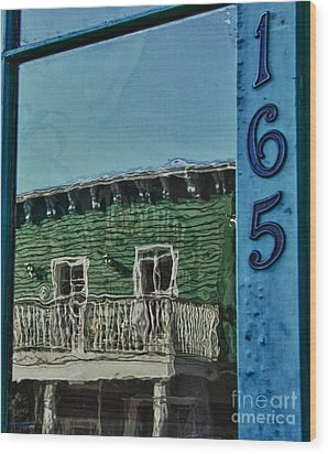 Reflections 165 Wood Print