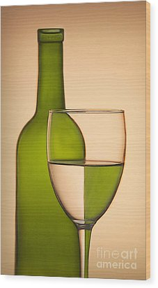 Reflections And Refractions Wood Print by Susan Candelario