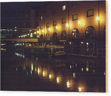 Wood Print featuring the photograph Reflections by Jean Walker